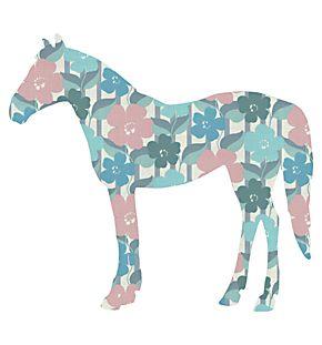 Behangbeest: Paard
