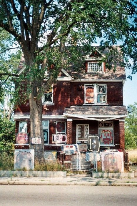 "The Heidelberg Project- creative response to the ""blight and decay"" of Detroit"
