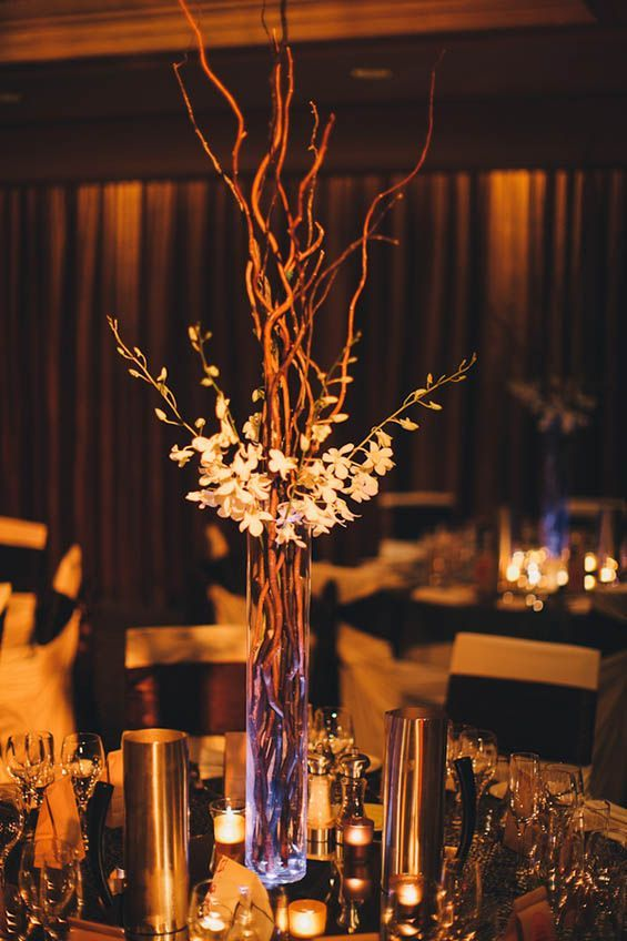Friday 5: Tall Wedding Centerpieces