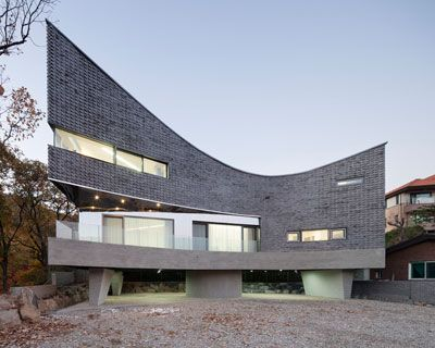 joho architecture / jeong hoon lee: yongin M curved house