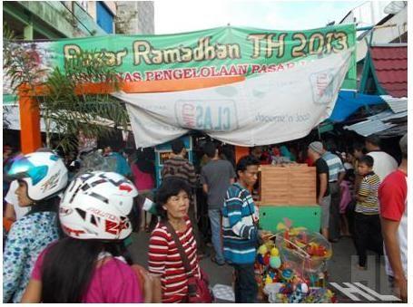 Pasar Ramadhan Ramai diserbu Pembeli – Berita Lahat Terkini – harianlahat.com