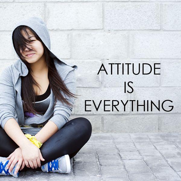 Aprendiendo expresiones. Attitude is everything http://accanada.com/