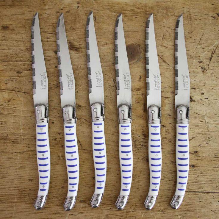 Set of 6 Steak Knives - Mariniere