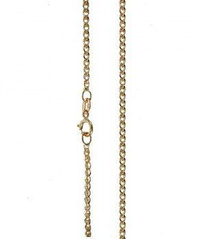 Αλυσίδες : Αλυσίδα Χρυσή με Λευκόχρυσο Κ14- 45cm AL128