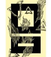KASPER PYNDT - Ild  ArtRebels Paper Cuts  #illustrations #illustraion #poster #artrebels