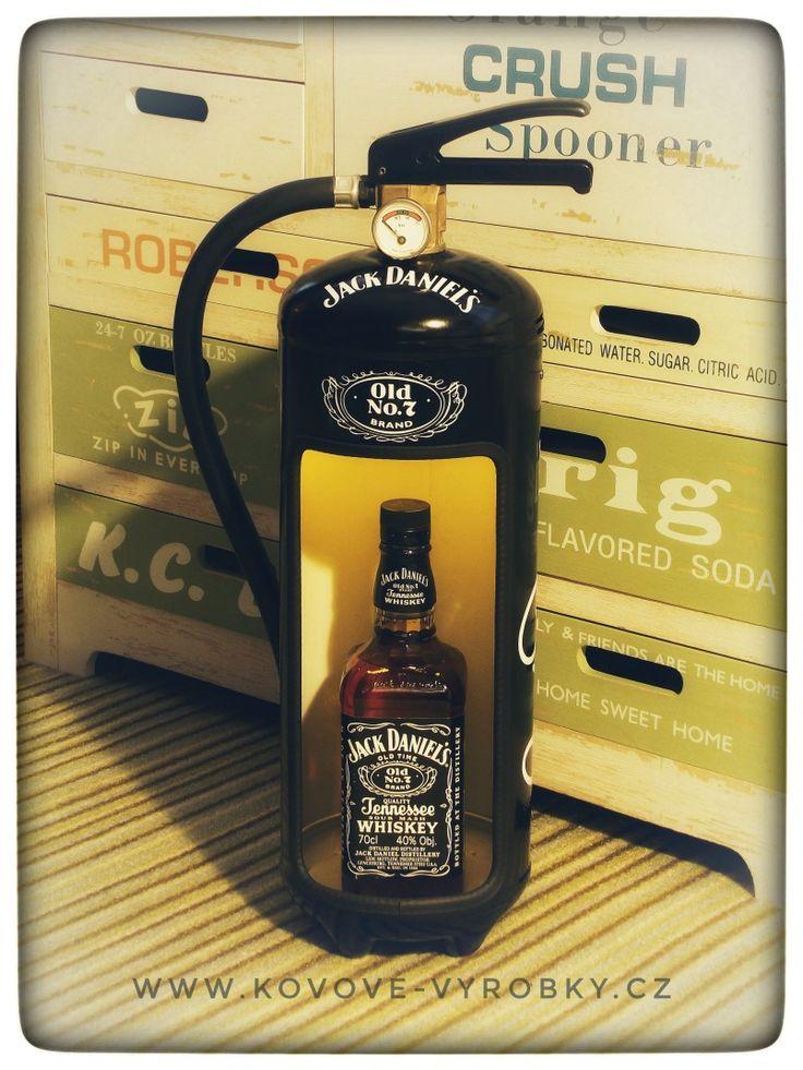 Fire extinguisher minibar Jack Daniels