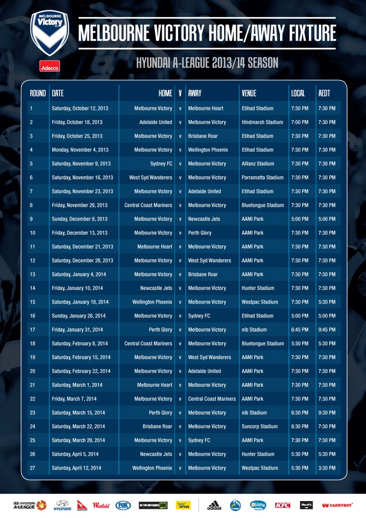Our 2013/14 Fixture has hit the streets! Which games are you most looking forward to?