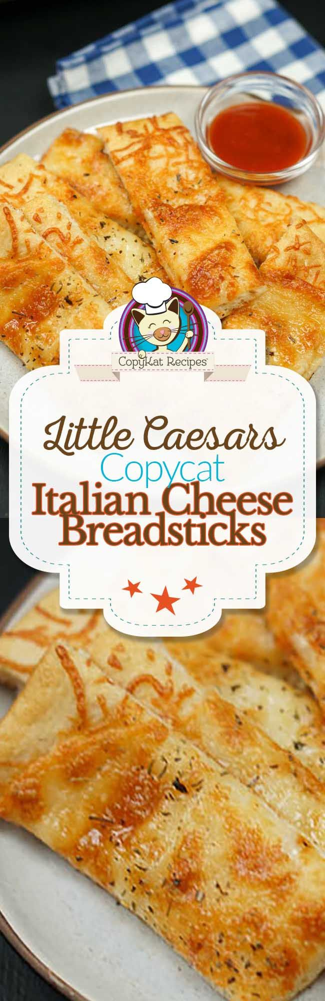 Little Caesars Italian Cheese Breadsticks are one of the most popular menu items at Little Caesars. Did you know you can recreate this recipe at home? Are you looking for...