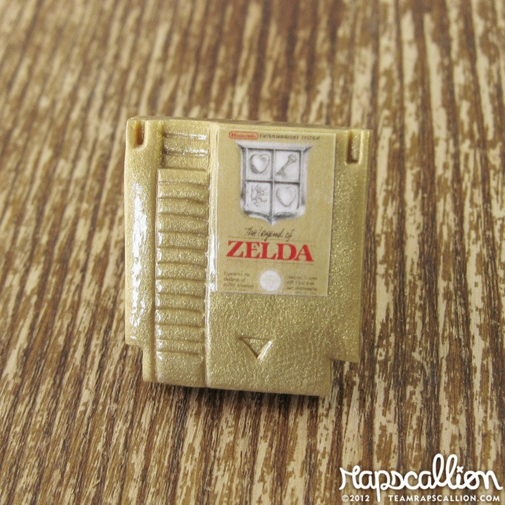 Legend of Zelda - NES Game Ring. $16.00, via Etsy.