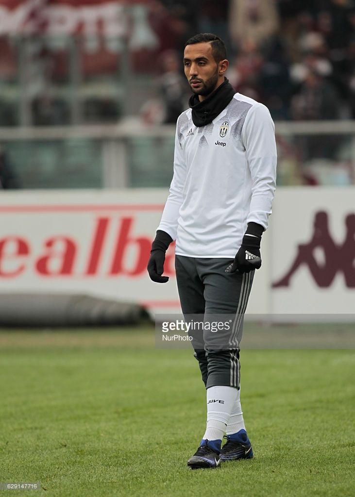 Medhi Benatia during Serie A match between Torino v Juventus, in Turin, on December 11, 2016 (Photo by Loris Roselli/NurPhoto via Getty Images).