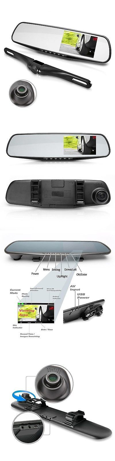 17 best ideas about rear view mirror camera on pinterest rear mirror rear view and motorcycle. Black Bedroom Furniture Sets. Home Design Ideas