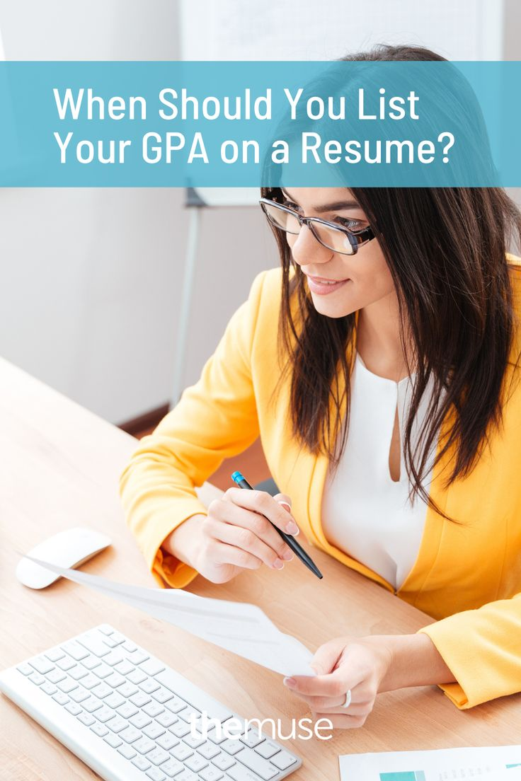 41+ When should you include your gpa on your resume Resume Examples