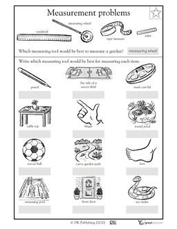 Measurement tools Worksheet CCSS.Math.Content.2.MD.A.1