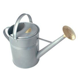 Bosmere 2.3-Gallon Titanium Metal Traditional Watering Can V143t