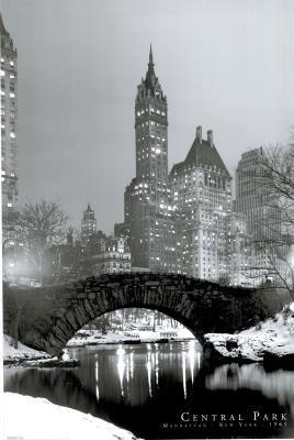 New York City Central Park 1961 Photo Art Print Poster
