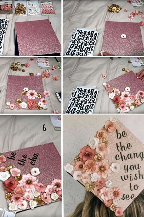 Graduation Cap decoration! BEST DIY Graduation Cap Ideas & Designs