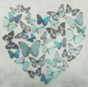 3d butterfly canvas diy