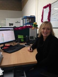 Here's Emma from Customer Support hard at work.