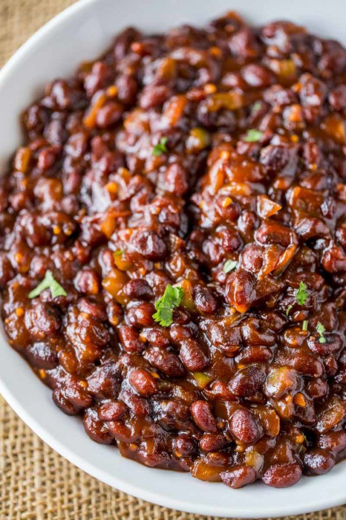 El Pollo Loco BBQ Black Beans are a classic side option that are sweet and a bit of heat from scratch. The cult favorite no longer on the menu! El Pollo Loco BBQ Black Beans are the perfect summer side dish to your favorite grilled foods!  As a lifelong Californian I grew up eating El …