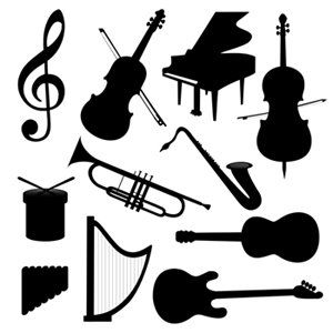 Black and White Musical Images