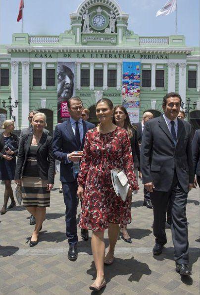 Princess Victoria & Prince Daniel visit Peru - 2nd Day | NEWMYROYALS & HOLLYWOOD FASHION