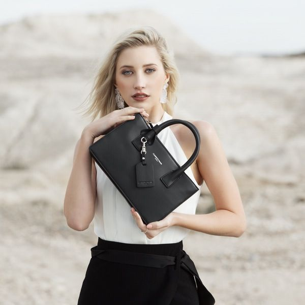Image of Jasmin Small Tote - Black
