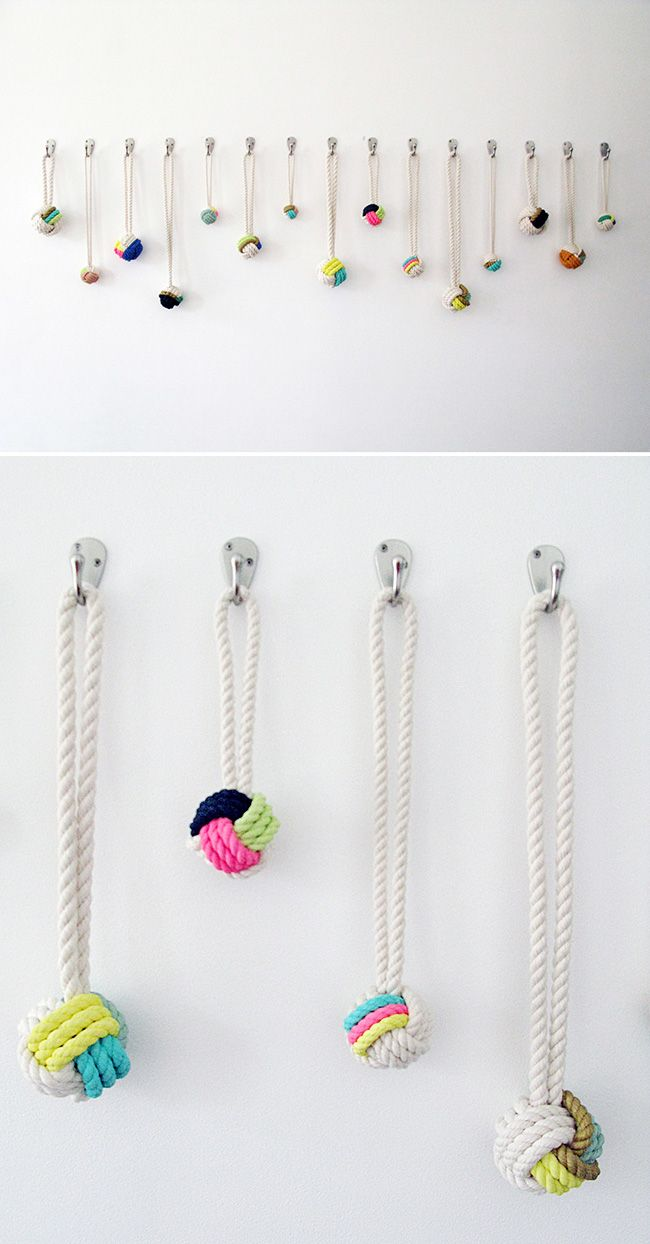rope & colour, by Cassandra Smith