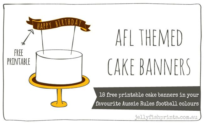 16 Best Afl Cakes Images On Pinterest Football Cakes