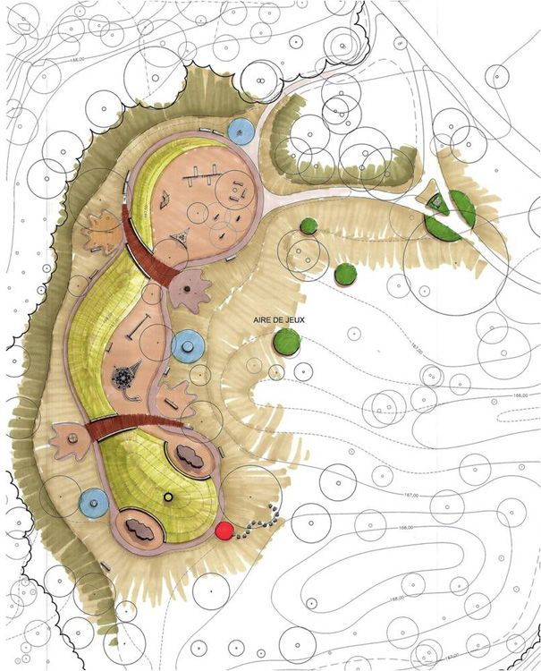 mount-royal-salamander-cardinal-hardy-playground-11 « Landscape Architecture Works   Landezine