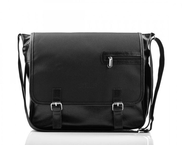 Pánská taška přes rameno - Split, černá