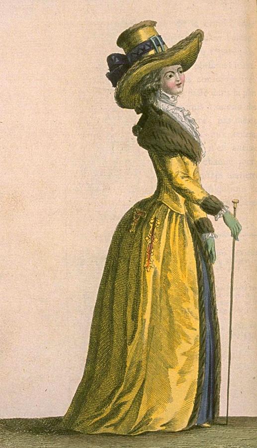 Feb 1787 - Magasin des Modes Nouvelles, Francaises et Anglaises
