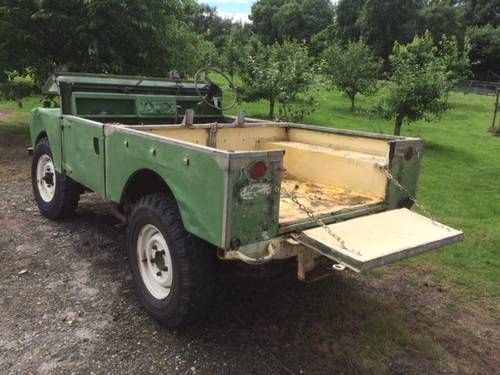 Land Rover Series1 SWB - Rot Free Chassis,Bulkhead For Sale (1955)