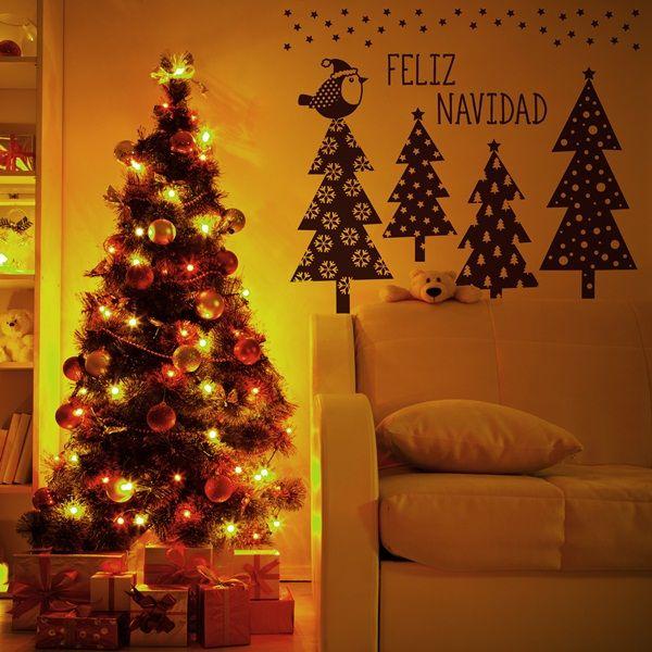8 best vinilos decorativos de navidad images on pinterest - Decorativos para navidad ...