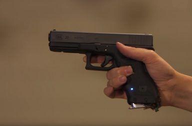 This 19 Years Old Teen Develops a Fingerprint Lock Smart Gun