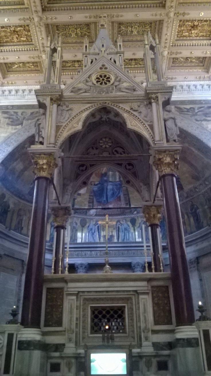Baldacchino, Basilica di San Paolo, #Roma