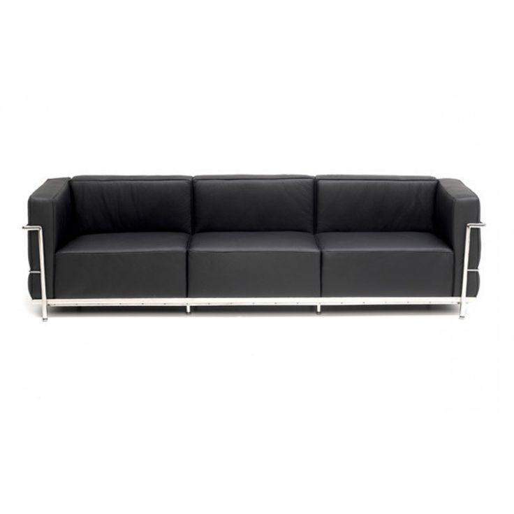 Le Corbusier LC3 Style Grand Sofa