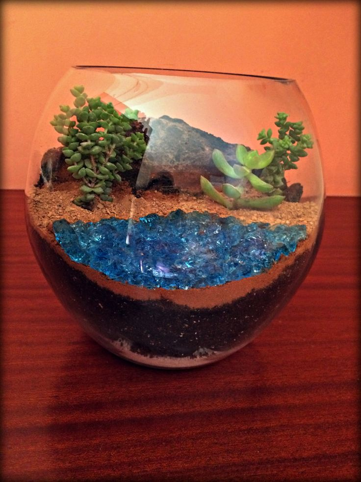 Terrarium Santorini- Red Beach