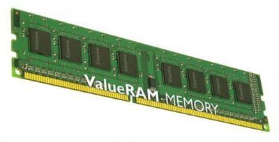 Память оперативная DDR3 Kingston 8Gb 1333MHz (KVR1333D3N9;8G)  — 2950 руб. —  1 модуль памяти DDR3, объем модуля 8 Гб, форм-фактор DIMM, 240-контактный, частота 1333 МГц, CAS Latency (CL): 9
