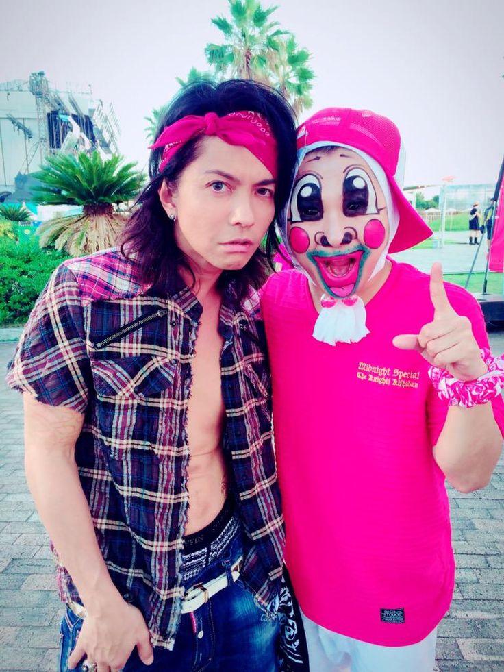 BackStage #HYDE with Igaguri Chiba(Sendaikamotsu) #VAMPS #KishidanBanpaku #KishidanExpo #2015
