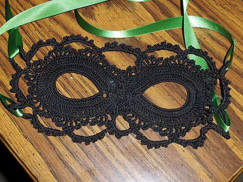 Crochet Lace Mask by arhoglen - Free Pattern