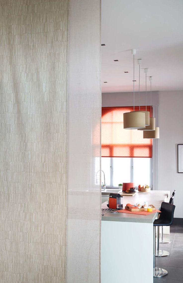 17 meilleures images propos de rideaux sur pinterest rideaux en lin rideaux blancs et zen. Black Bedroom Furniture Sets. Home Design Ideas