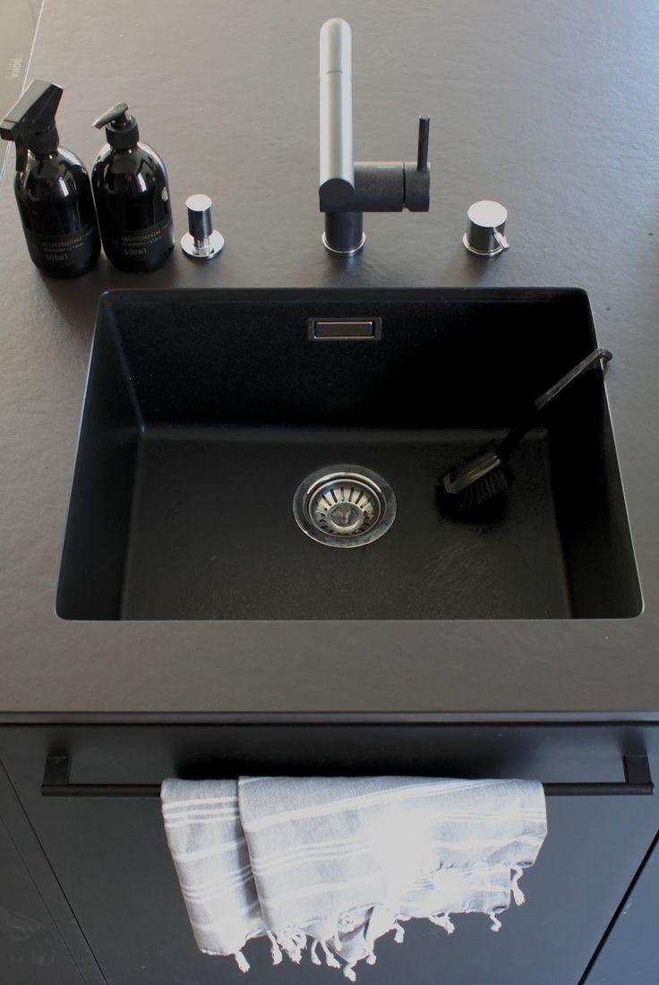 Kaikki mitä halusit tietää meidän mustasta keittiöstä   Pieni talo Helsingissä   Bloglovin'