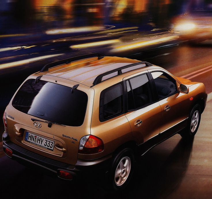 https://flic.kr/p/FutAi9 | Hyundai Santa Fe; 2001_2 | car brochure by worldtravellib World Travel library