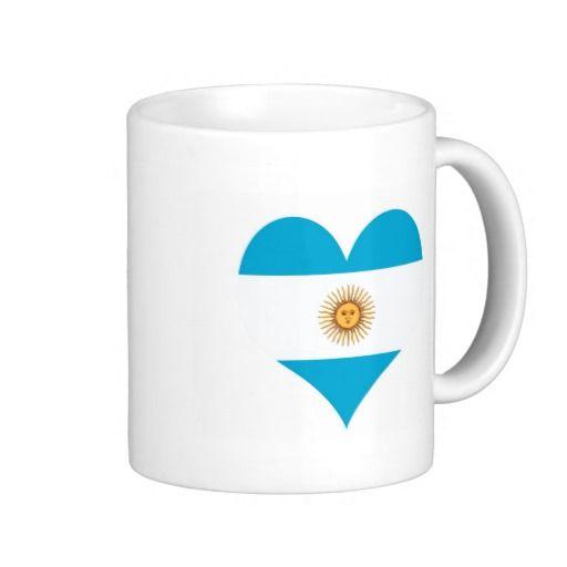 Argentina Argentinian flag coffee mug