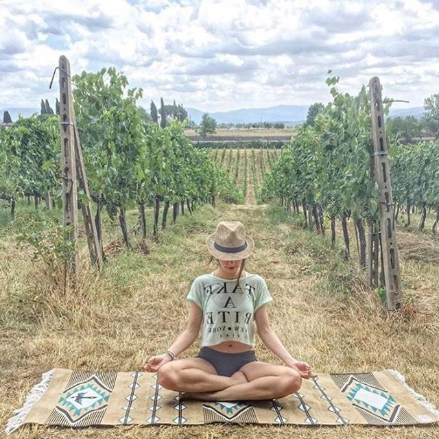 La Vie Boheme Yoga ヨガラグ Navajo-TAN (8000082) スタイル・ヨギー style yoggy