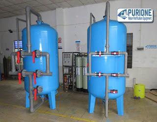 Pressure Filter Tank adalah tangki filter bertekanan yang terbuat dari bahan material mild steel dan dapat diisi dengan berbagai media filter - http://www.purione.com/2017/02/pressure-filter-tank.html