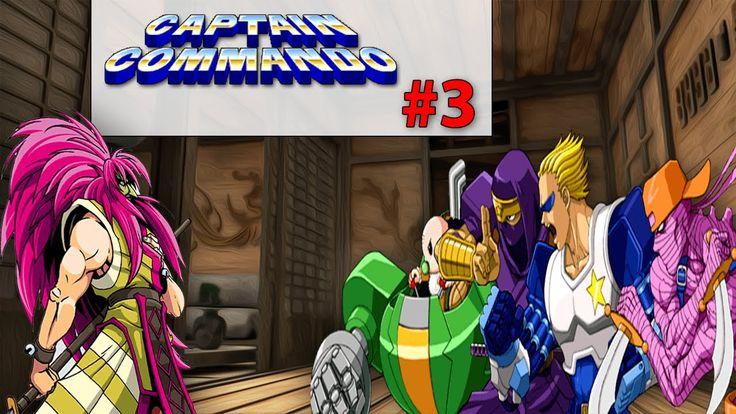 Captain Commando Stage#3 Ninja House | Old Fashion Gamer |  ¡Retro! |  G...