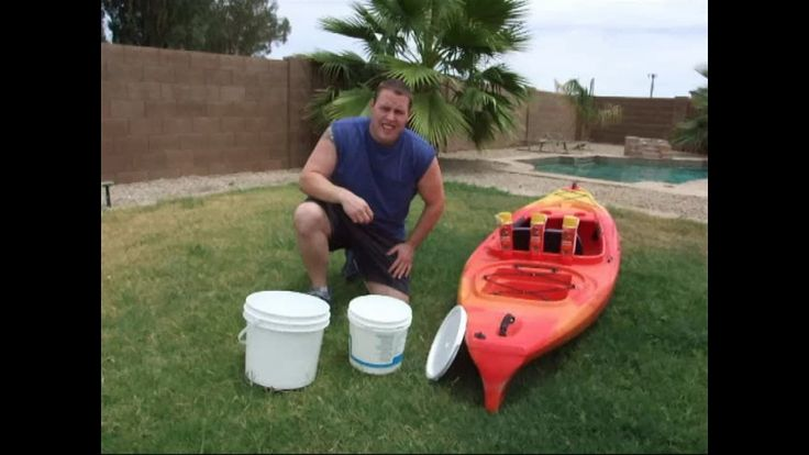 How To Build A Cooler For Your Kayak Part #1 DIY