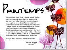 Printemps - Victor Hugo