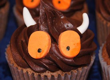 Or maybe we'll bake some mini Gruffalo cakes